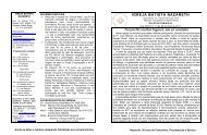 Boletim 17 – Nazareth: muitos lugares, um só caminho