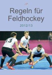 Feld-Regeln 2012-13 (PDF) - Hockeyschiedsrichter.de