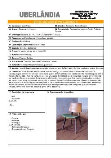 Cadeira Art Deco- Fazenda Letreiro - Prefeitura Municipal de ...