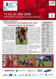 6 - Deutscher Hockey Bund e.V.