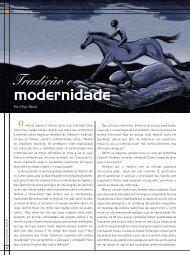 Tradição e modernidade - Teatro de Cordel