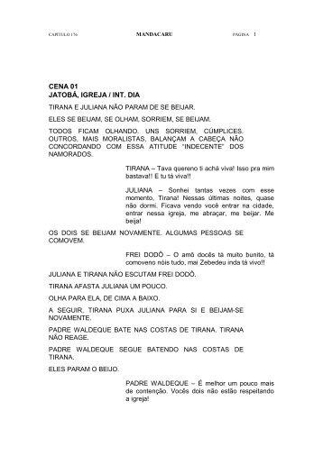 MANDACARU, Capítulo 176 - Encontros de Dramaturgia