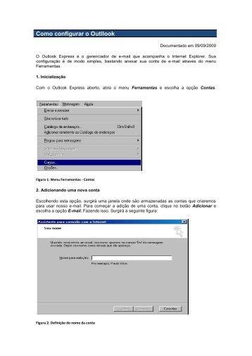 Configuração do Outlook - USP