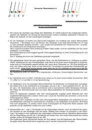 Anlage 8 zur Sportordnung - DSkV
