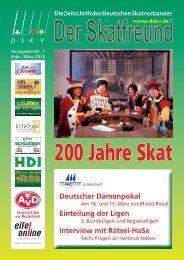 200 Jahre Skat - DSkV