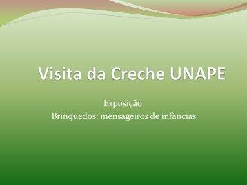 Pró-saber visita da creche UNAPE - Centro Lúdico da Rocinha