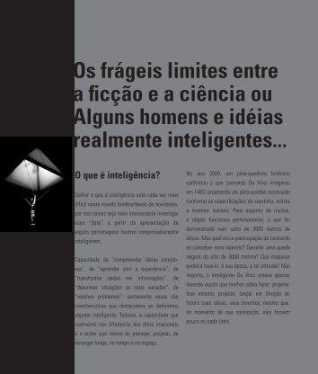 Os frágeis limites entre a ficção e a ciência ou Alguns homens e ...