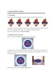 1. Tipos de simetria no plano - Atractor