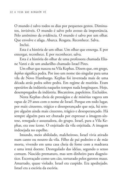 historia de um olhar - Eliana Brun