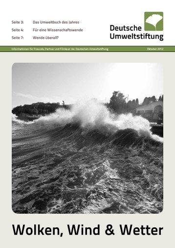 Wolken, Wind & Wetter - Deutsche Umweltstiftung