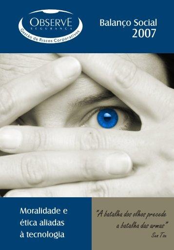 """""""A batalha dos olhos precede a batalha das armas ... - Instituto Ethos"""