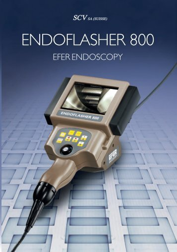 Brochure ENDOFLASHER 800 - SCV SA