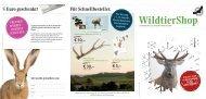 Für Schnellbesteller. 5 Euro geschenkt! - Deutsche Wildtier Stiftung