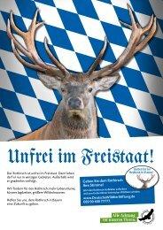 Geben Sie dem Rothirsch Ihre Stimme! - Deutsche Wildtier Stiftung