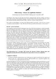 Hubertustag – Chance zur jagdlichen Einkehr