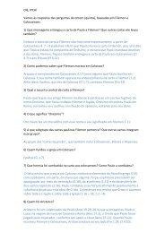 Olá, IPCA! Vamos às respostas das perguntas de ontem (quinta ...