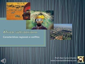 África ontem e hoje