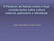 O Pártenon de Atenas ontem e hoje: considerações sobre cultura ...