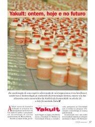 Yakult: ontem, hoje e no futuro