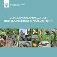 biotska pestrost je naše življenje - Zavod RS za varstvo narave