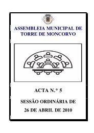 Acta Nº 5 de 26-04-2010