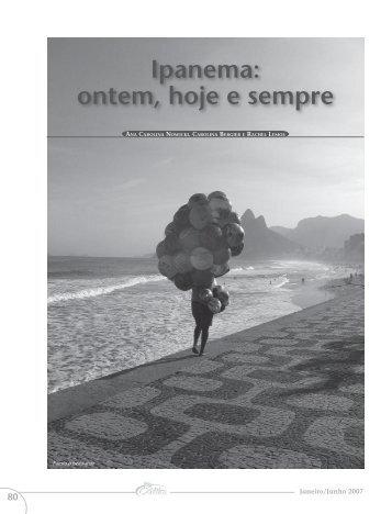 19 - ipanema ontem hoje e sempre.pdf - Portal PUC-Rio Digital