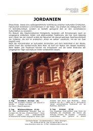 JORDANIEN - Devendra-Reisen