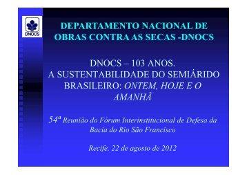 a sustentabilidade do semiárido brasileiro - Clube de Engenharia ...