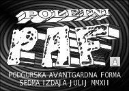 podgurska avantgardna forma sedma izdaja julij mmxii - EkoFabrika