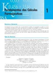 Fundamentos dos Cálculos Farmacêuticos - Ponto Frio