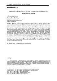 emprego do carbonato de cálcio para pacientes renais crônicos