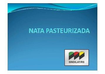 NATA PASTEURIZADA - Ministério da Agricultura