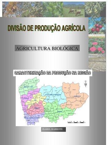 agricultura biológica - Direcção Regional de Agricultura e Pescas ...