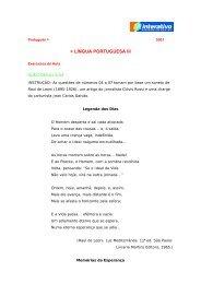 Tema 3 - Língua Portuguesa III