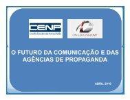 O Futuro das Agências de Propaganda - Cenp