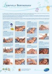 iebevolle Babymassage - Deutsche Gesellschaft für Baby