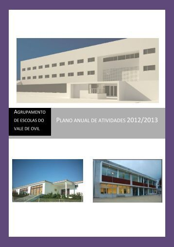 Plano anual de atividades 2012/2013 - Agrupamento de Escolas do ...