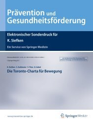 Die Toronto-Charta für Bewegung - Global Advocacy for Physical ...