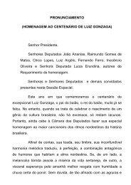 HOMENAGEM AO CENTENÁRIO DE LUIZ GONZAGA