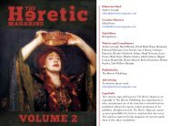 PDF - 12 MB - The Heretic Magazine