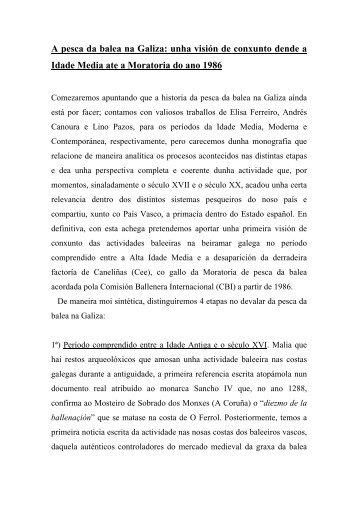 A pesca da balea na Galiza - Federación Galega pola Cultura ...