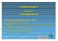 CrossGrid WP3 Task 3.3 Grid Monitoring - Trinity College Dublin