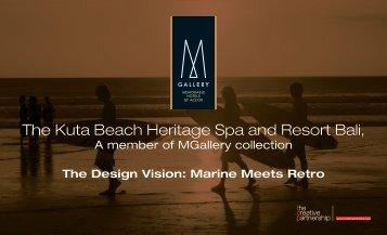 The Kuta Beach Heritage Spa and Resort Bali,