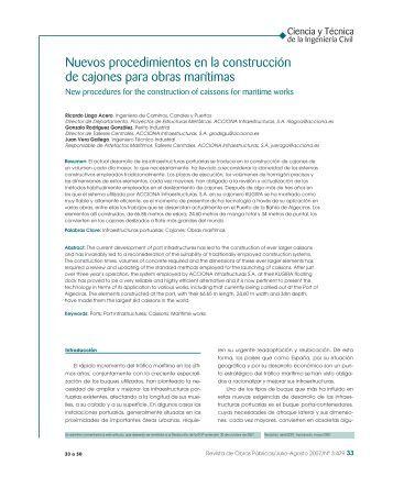 Artículo a texto completo en formato PDF - Revista de Obras Públicas