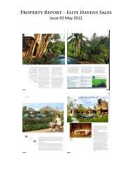 Green Luxury on Bali, Property Report, Issue 92 ... - Lataliana Villas