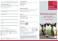 Aktuelles Programm - DGHO Service GmbH