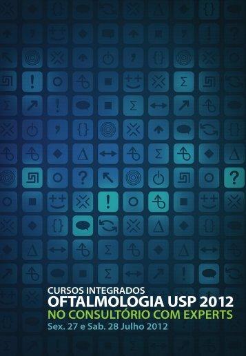cursos integrados oftalmologia usp 2012