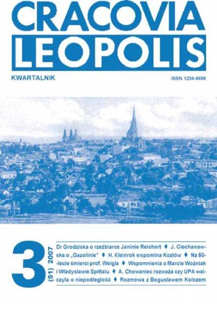 Modzi Krak Owianie Poznaj Lwów Cracovia Leopolis