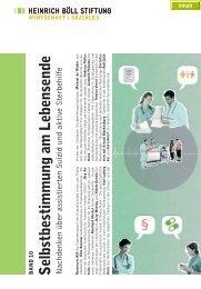 Böll-Stiftung: Selbstbestimmung am Lebensende - DGHS