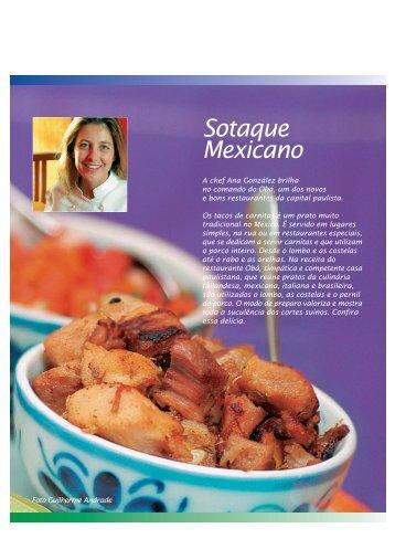 tacos de carnitas - Carne Suína Brasileira